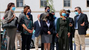 Ministra da Coesão Territorial visitou a remodelada Várzea Grande