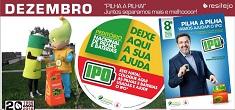 Participe no 8.º Peditório Nacional de Pilhas e Baterias a favor do IPO
